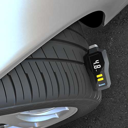 Michelin Digital Tyre Tread Depth and Pressure Gauge - 12292