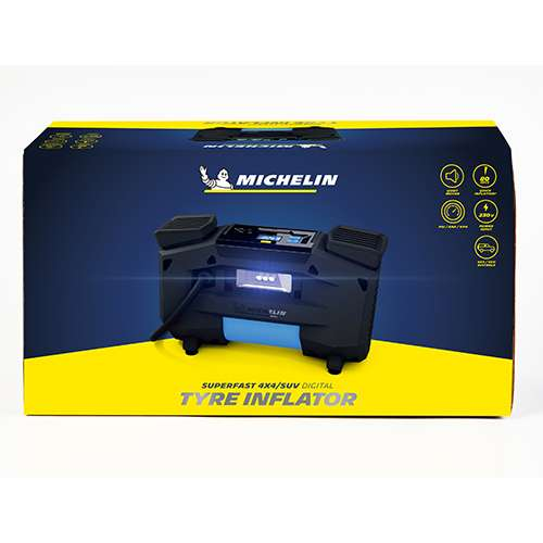 Michelin Superfast 4x4/SUV Digital Tyre Inflator